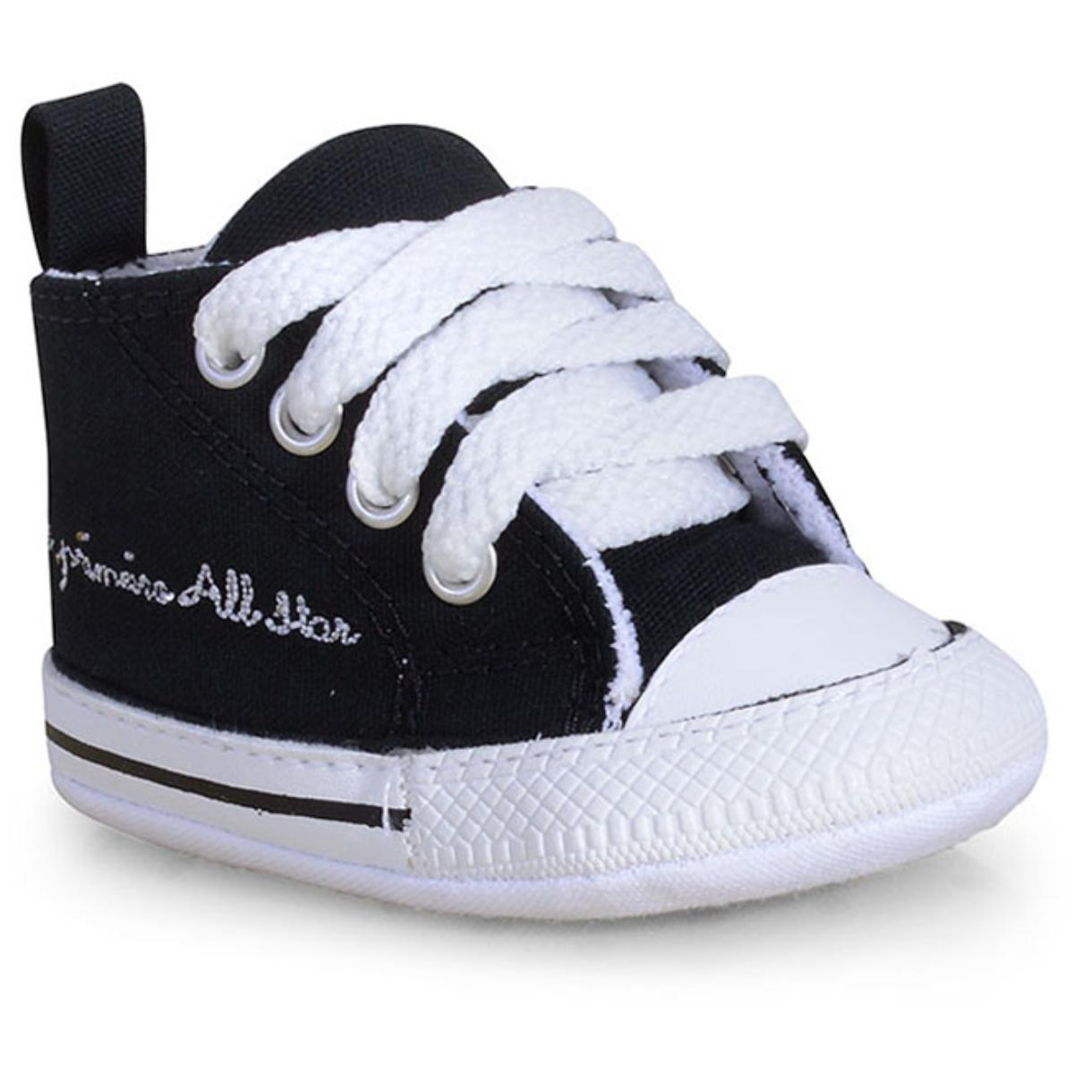 Tênis Uni Infantil All Star Ck04400001 Preto/branco