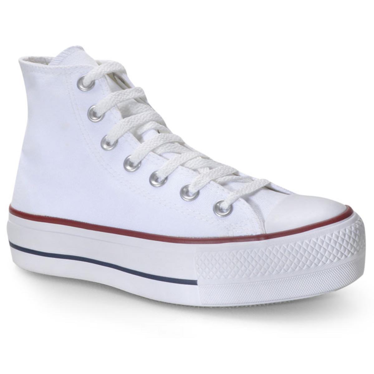 Tênis Feminino All Star Ct04940003 Branco/marinho