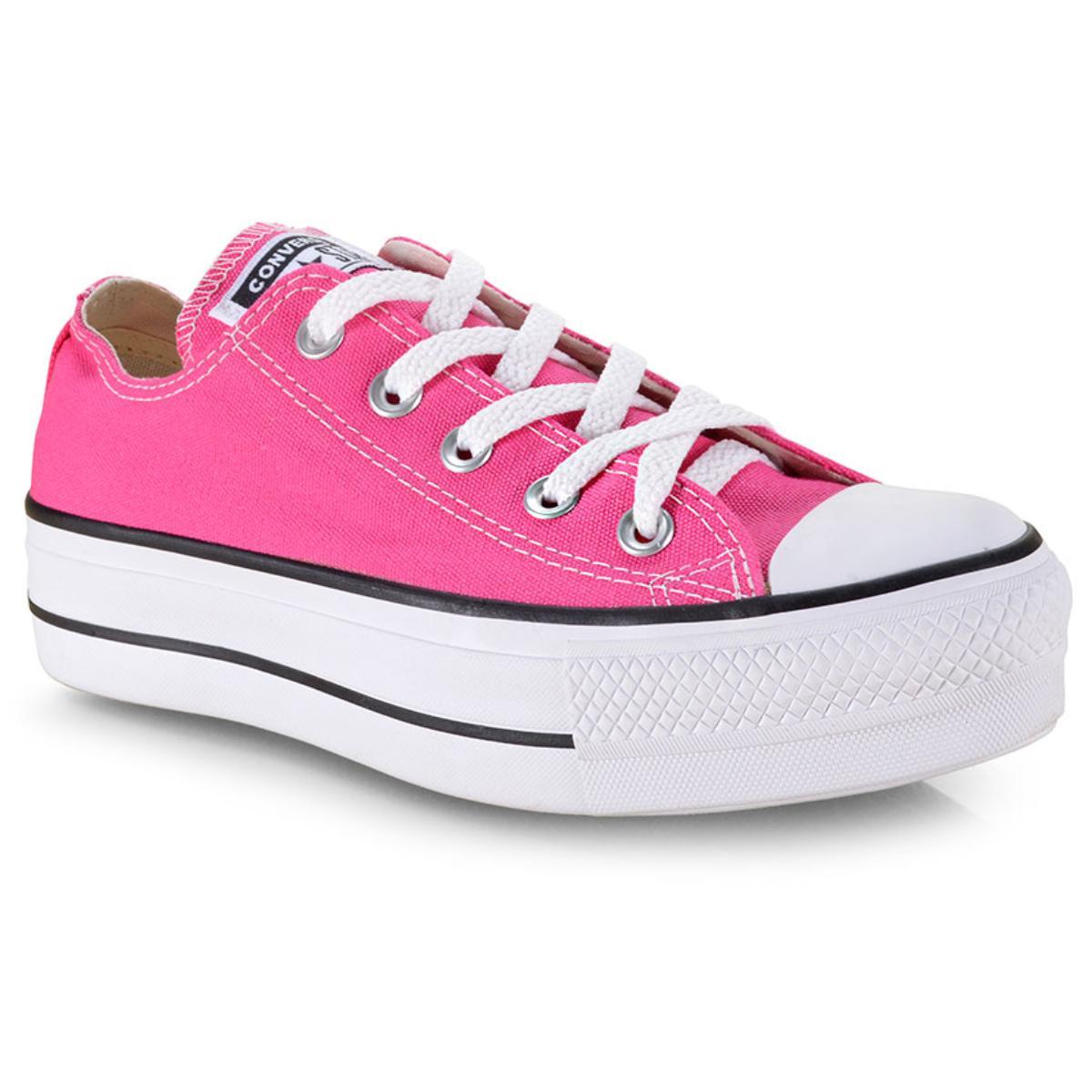 Tênis Feminino All Star Ct09630013 Pink/preto/branco