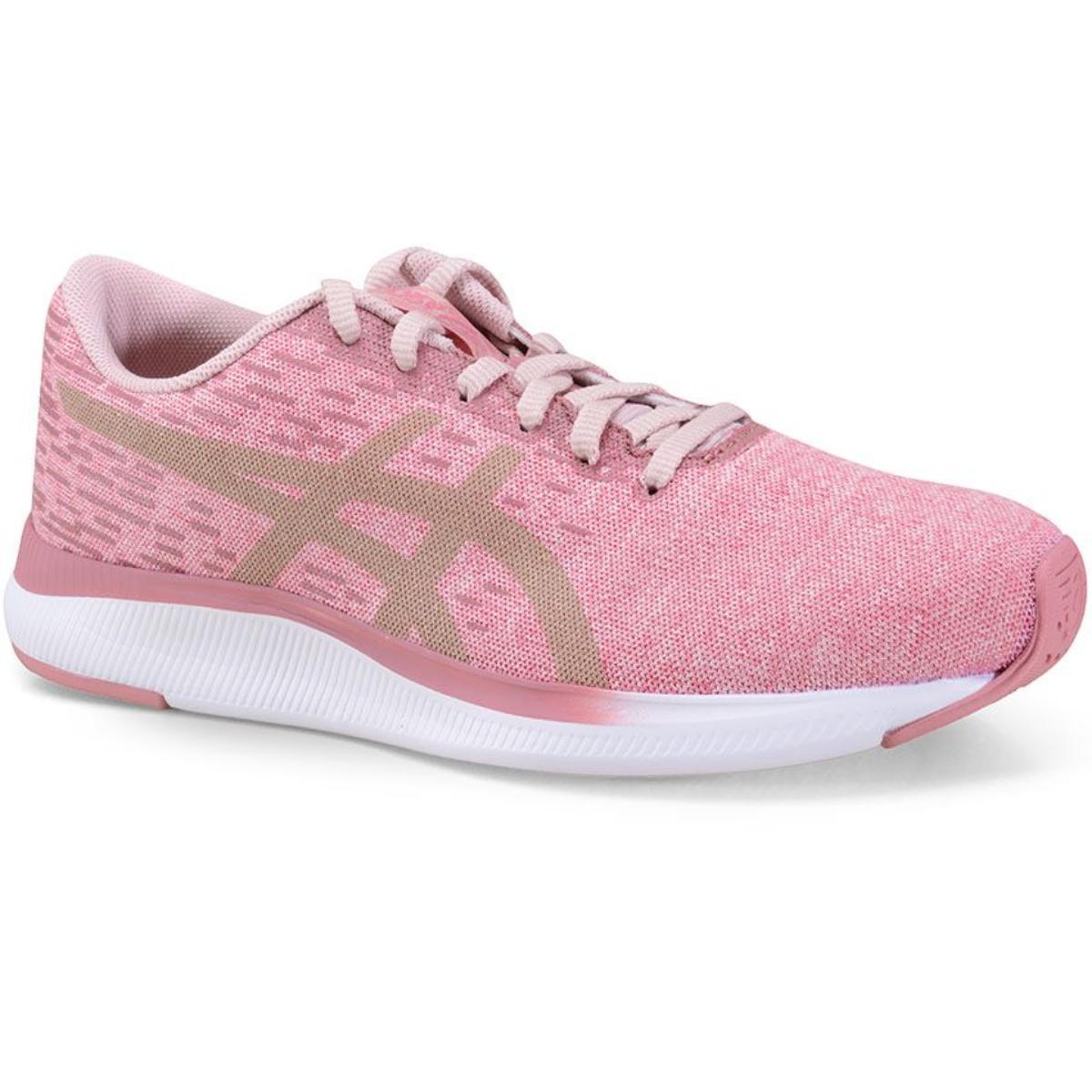 Tênis Feminino Asics 1202a183.700 Streetwise Rosa/branco