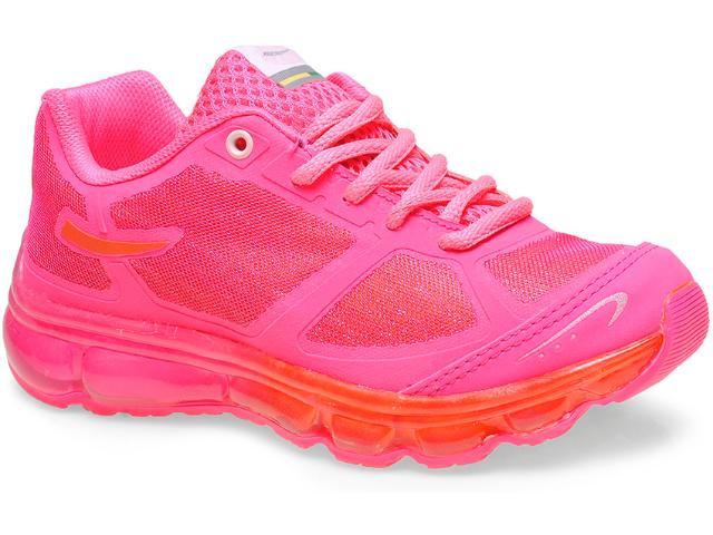 Tênis Fem Infantil Bibi 804025 Pink Neon