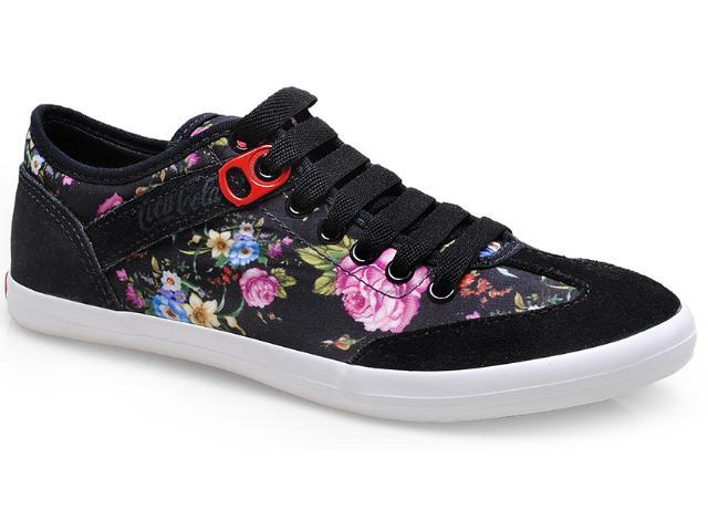 Tênis Feminino Coca-cola Shoes Cc0685 Preto