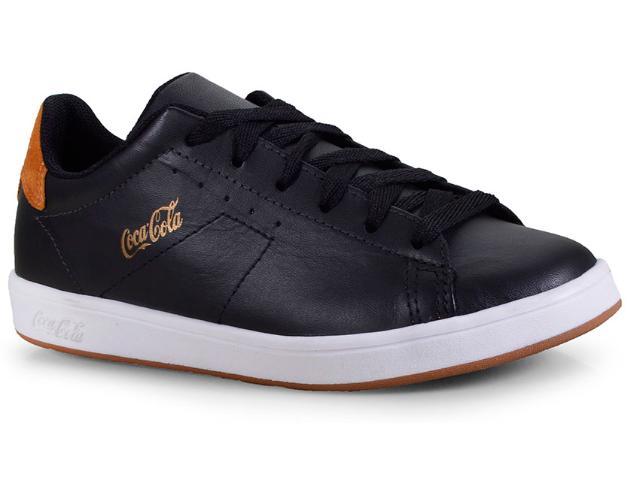 Tênis Masculino Coca-cola Shoes Cc1525 Preto