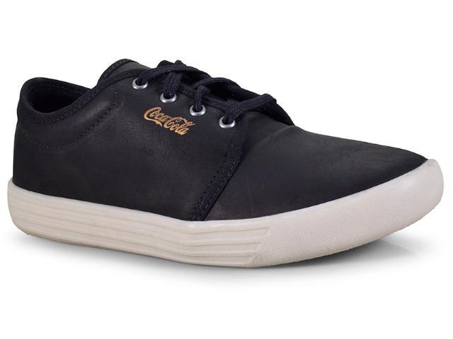 Tênis Masculino Coca-cola Shoes Cc1506 Preto/off White