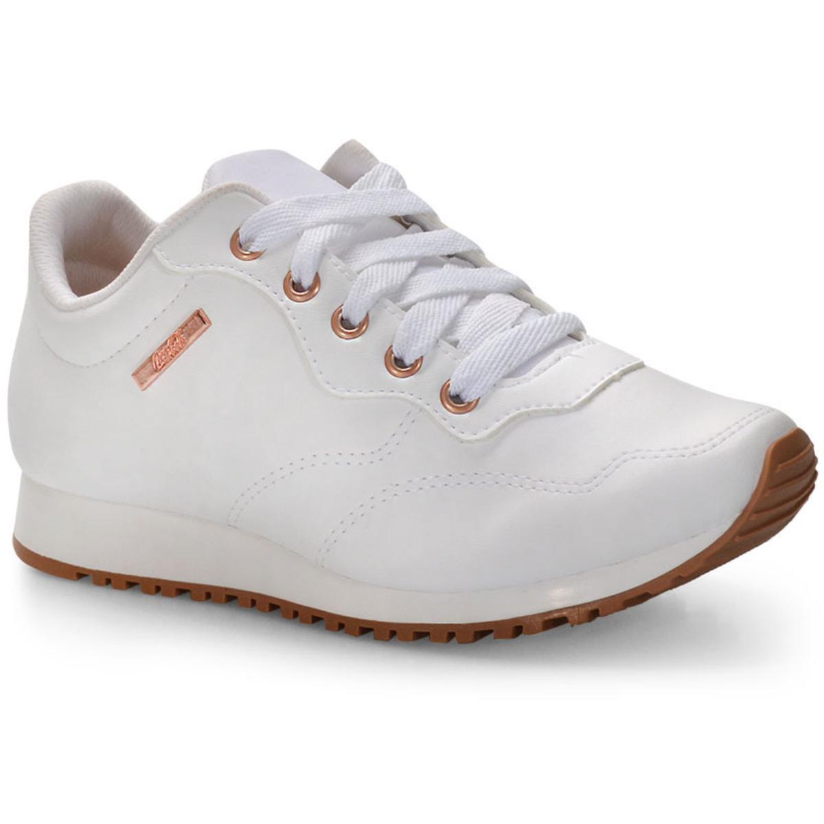 Tênis Feminino Coca-cola Shoes Cc1672 Branco