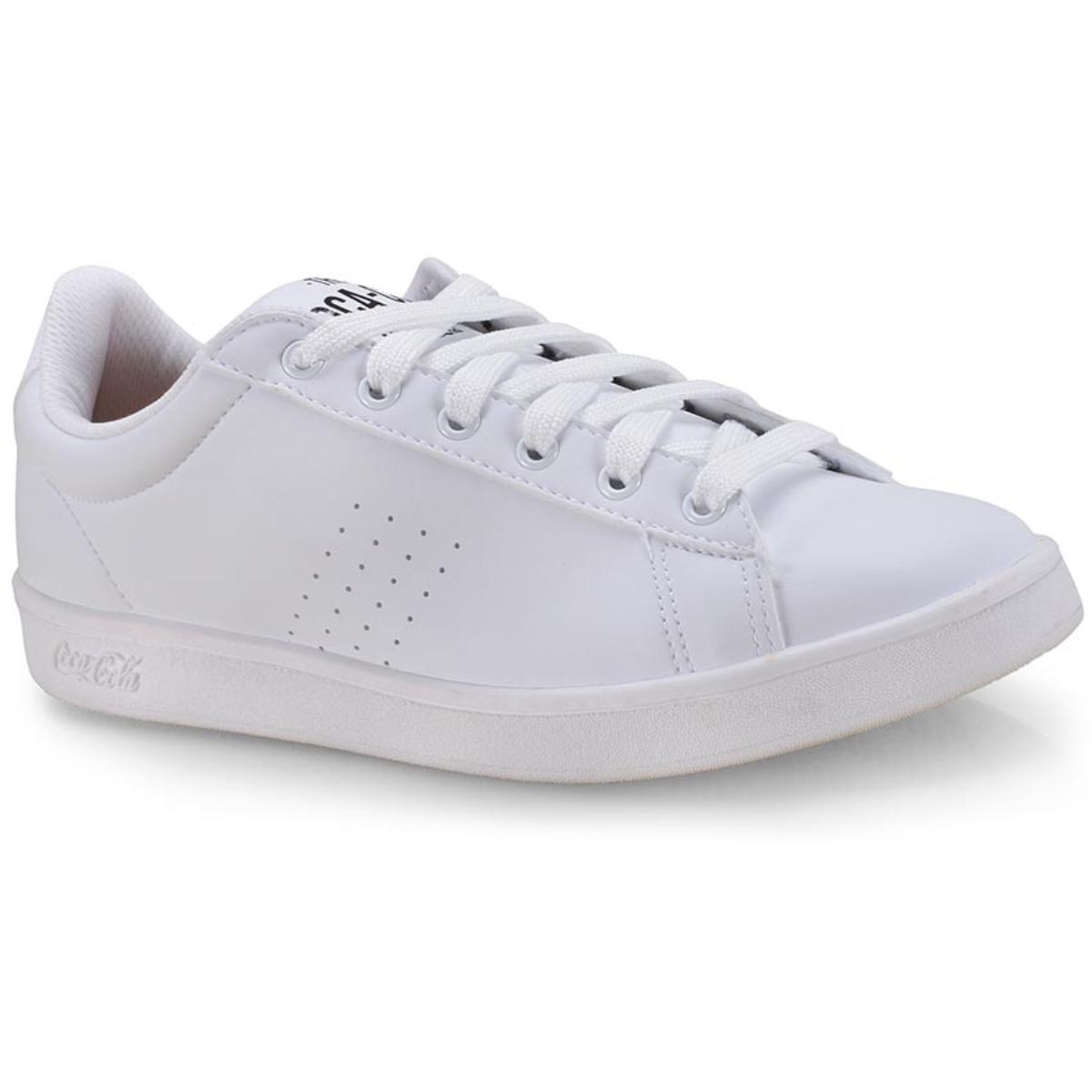 Tênis Masculino Coca-cola Shoes Cc1683 Branco