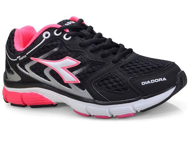 Tênis Feminino Diadora 125700  C0129 Preto/pink