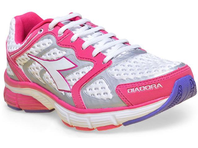 Tênis Feminino Diadora 125700  New Stratus C8805 Magenta/branco