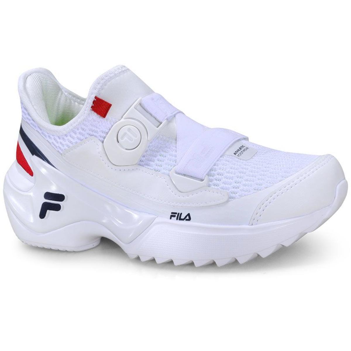 Tênis Feminino Fila F02st004068 156 F-loop Branco