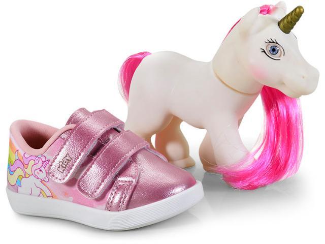 Tênis Fem Infantil Kidy 05900440008 Rosa
