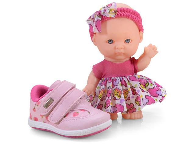 Tênis Fem Infantil Kidy 00907790008 Rosa
