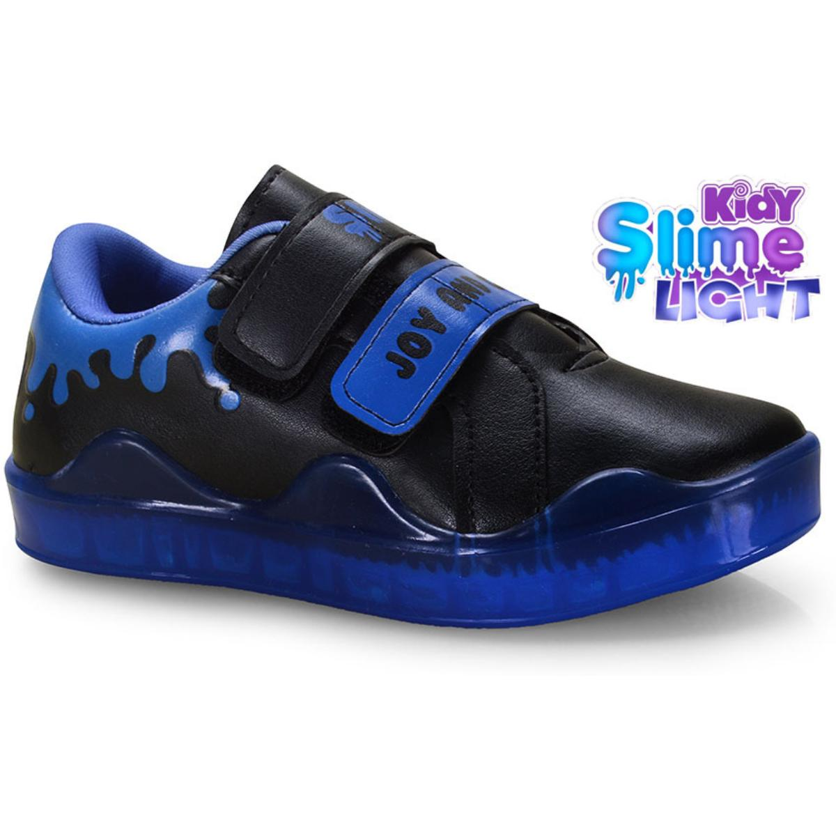 Tênis Masc Infantil Kidy 06500020588 Preto/azul