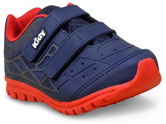 Tênis Masc Infantil Kidy 16801121049 Marinho/vermelho