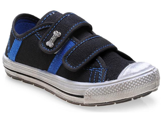 Tênis Masc Infantil Klin 471.021 Preto/azul