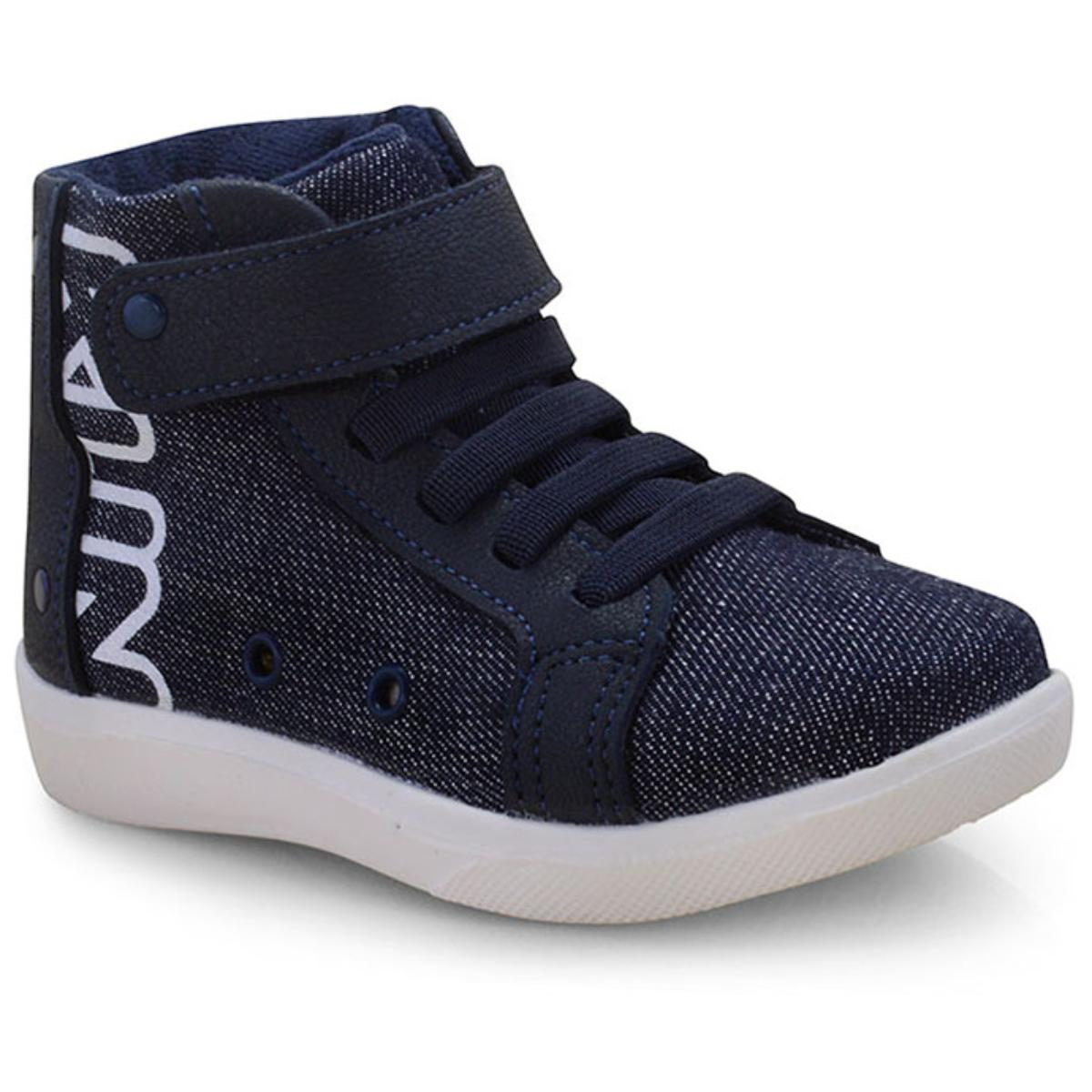 Tênis Masc Infantil Klin 170.067 Marinho/jeans