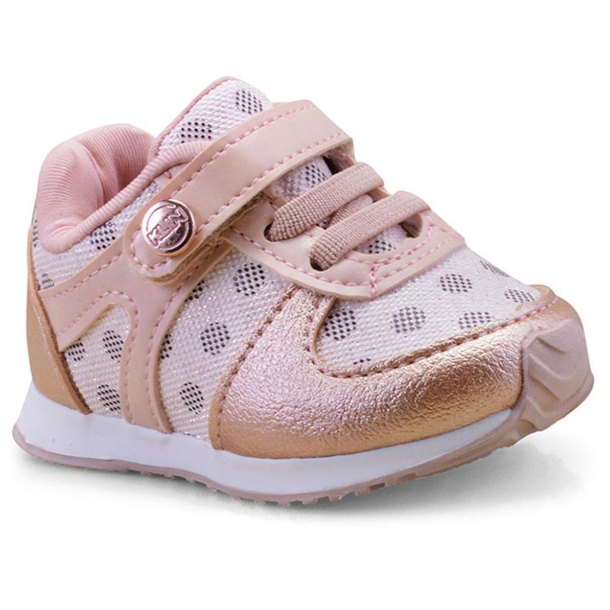 Tênis Fem Infantil Klin 453.040 Rosa