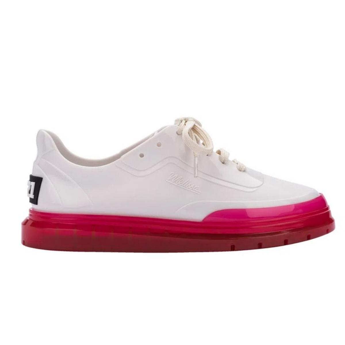 Tênis Feminino Melissa 33399 51463 Classic Sneaker+bt21 Branco/rosa