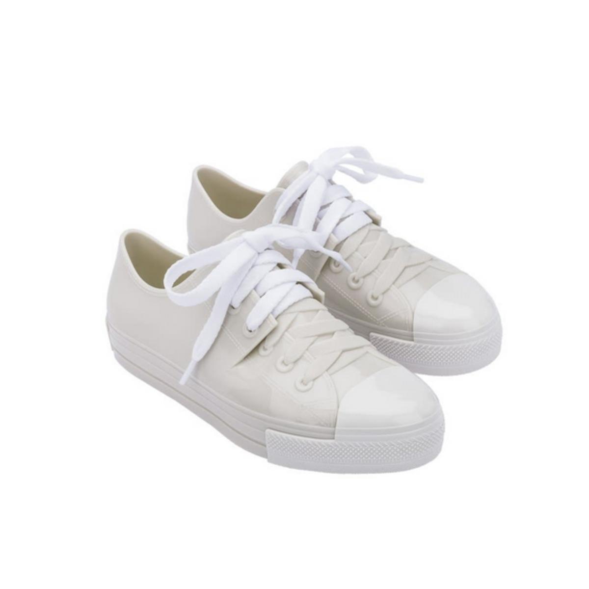 Tênis Feminino Melissa 32941 53388 Squad Sneaker Bege/branco/vermelho