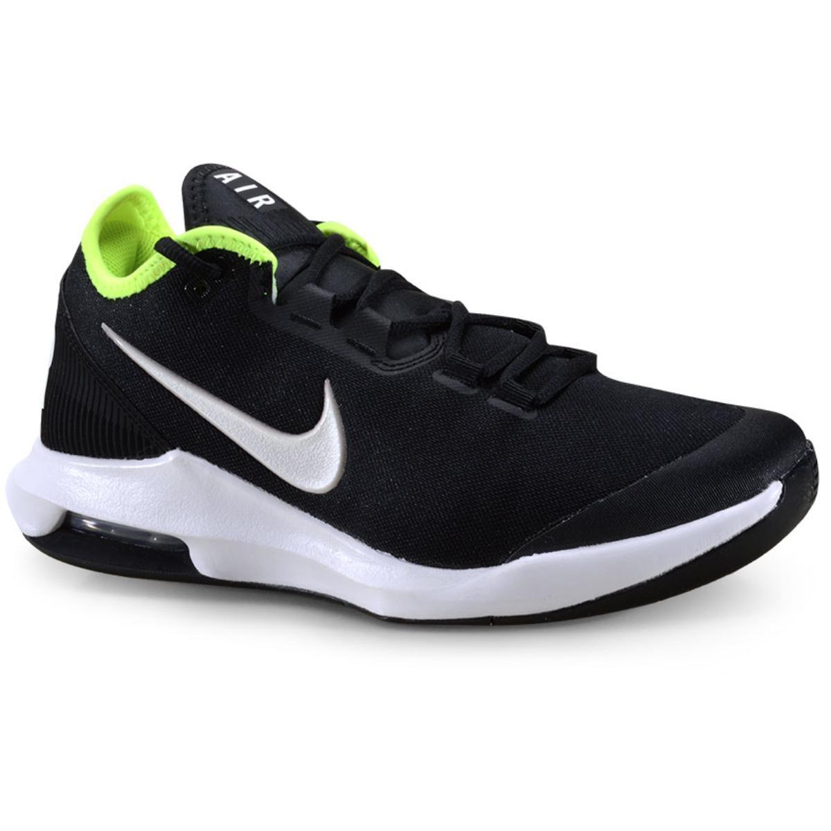 Tênis Masculino Nike Ao7351-007 Air Max Wildcard Preto/limão