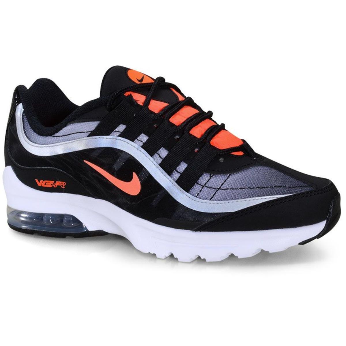 Tênis Feminino Nike Ct1730-003 Air Max Vg-r Preto/laranja Neon