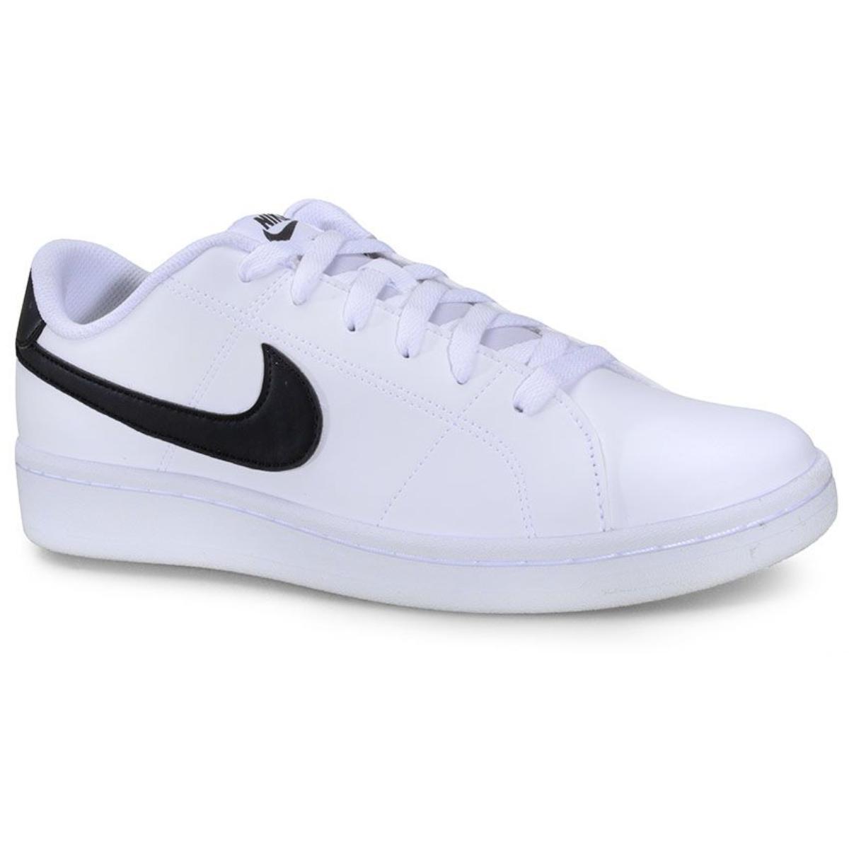 Tênis Masculino Nike Cq9246 Court Royale 2 Branco/preto