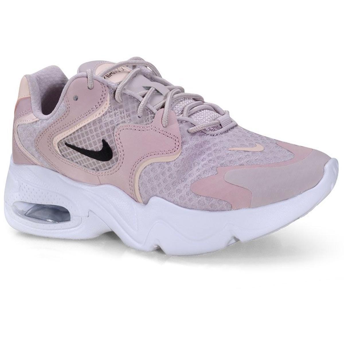 Tênis Feminino Nike Ck2947-600 Air Max 2x Rosa