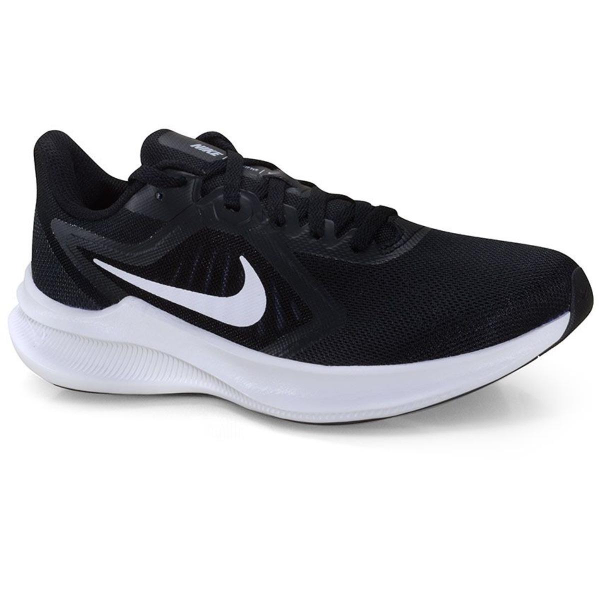 Tênis Feminino Nike Ci9984-001 Downshifter 10 Preto/branco