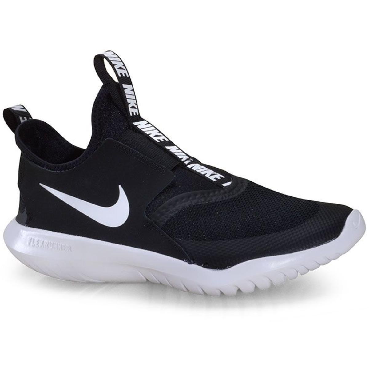 Tênis Feminino Nike At4662-001 Flex Runner Preto/branco