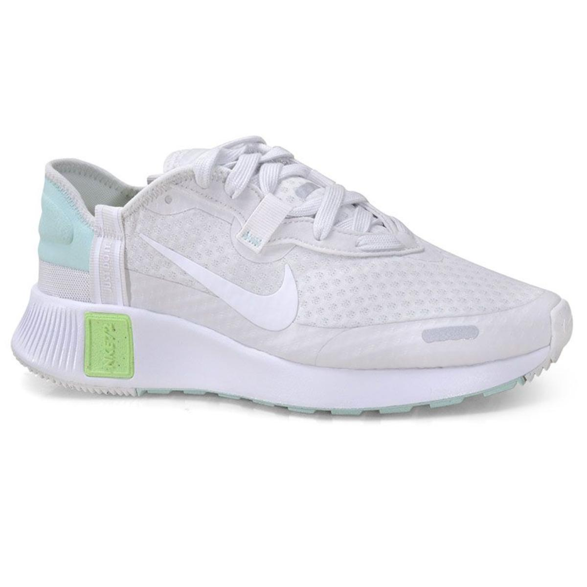 Tênis Feminino Nike Cz5630-013 Reposto Branco/cinza/verde