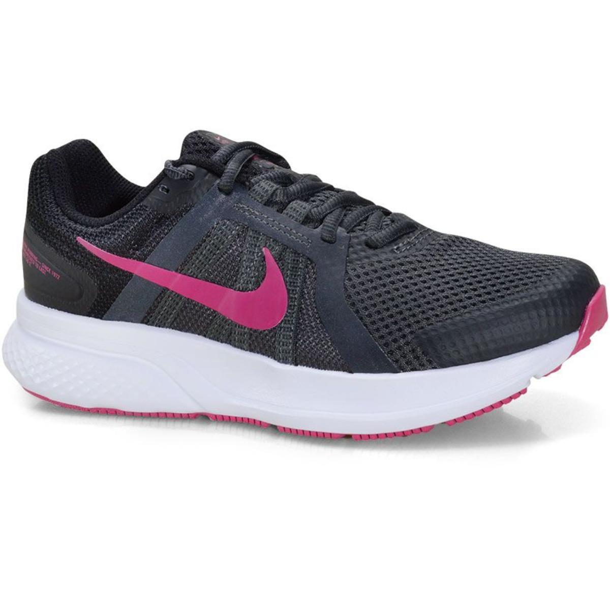 Tênis Feminino Nike Cu3528-011 Run Swift 2 Preto/rosa
