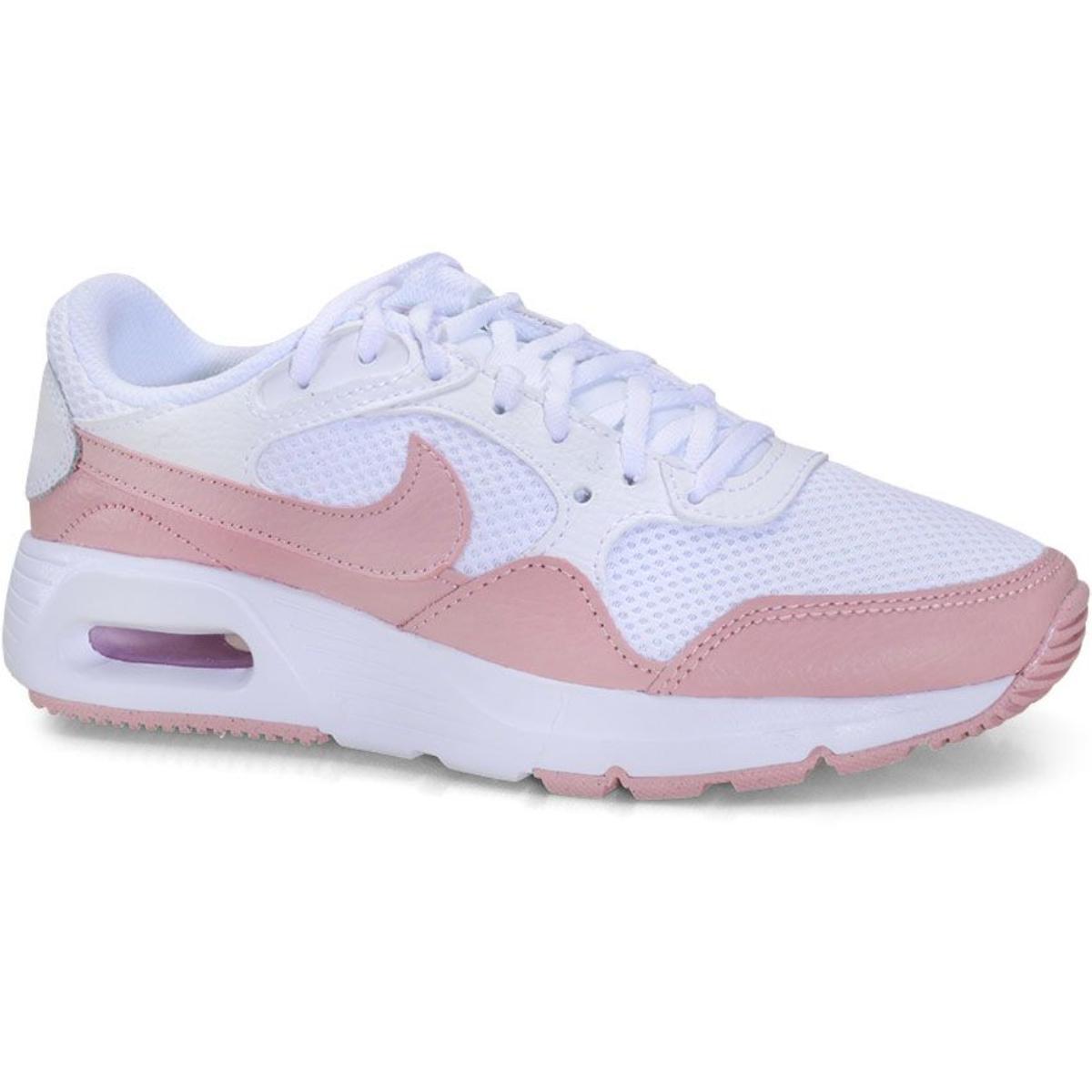 Tênis Feminino Nike Cw4554-102 Air Max sc Rosa/branco