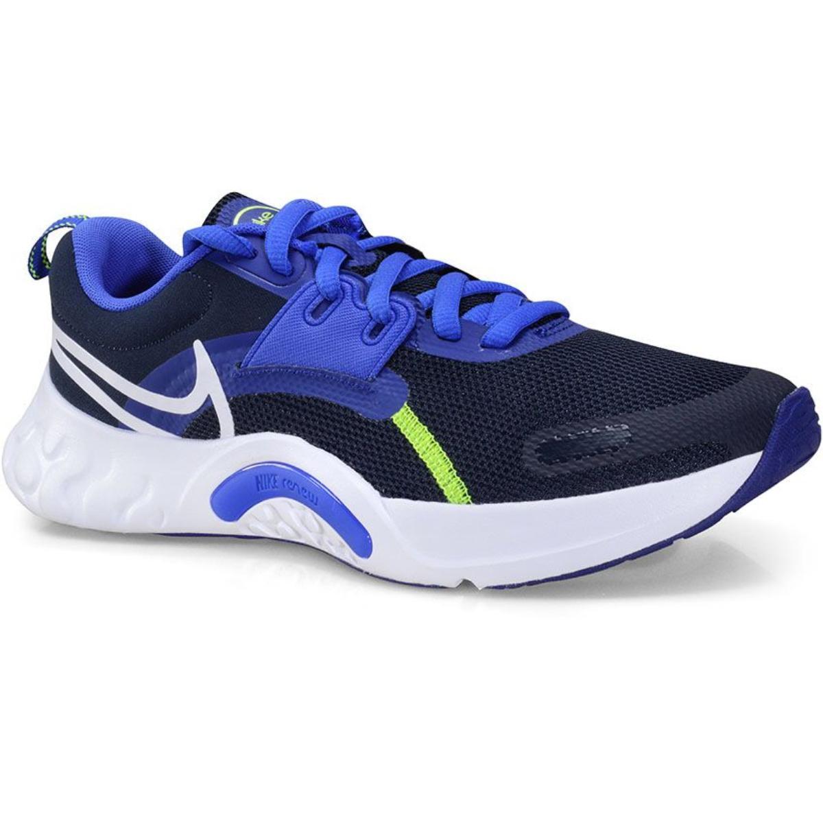 Tênis Masculino Nike Da1350-400 Renew Retaliation Preto/azul