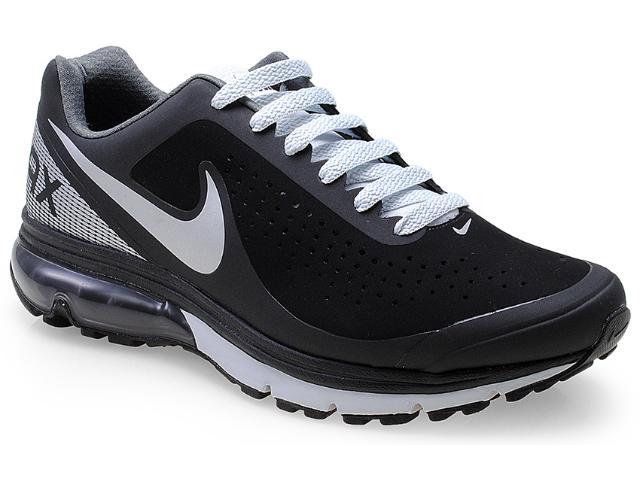 Tênis Masculino Nike 633024-010 Air Max Supreme 2 Preto/cinza