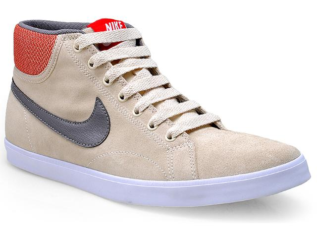 Tênis Masculino Nike 555250-200 Eastham Mid Bege/cinza