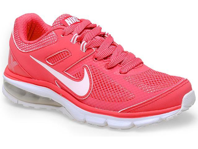 Tênis Feminino Nike 599390-601 Air Max Defy rn Coral/branco