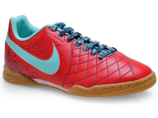 Tênis Masc Infantil 651983-600 jr Nike Flare 2 ic Vermelho/verde Agua
