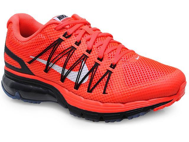 Tênis Masculino Nike 703072-601 Air Max Excellerate 3  Laranja/preto