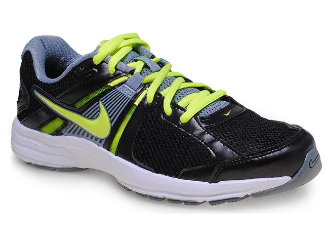 Tênis Masculino Nike 580527-029 Dart 10 Msl Preto/limão/branco