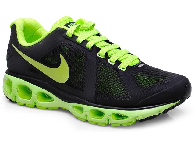 Tênis Masculino Nike 558557-002 Air Max Triade 2+ Preto/limão
