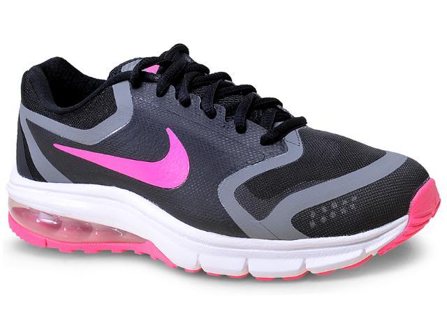 Tênis Feminino Nike 707391-004 Air Max Premiere Run Preto/rosa Chiclete