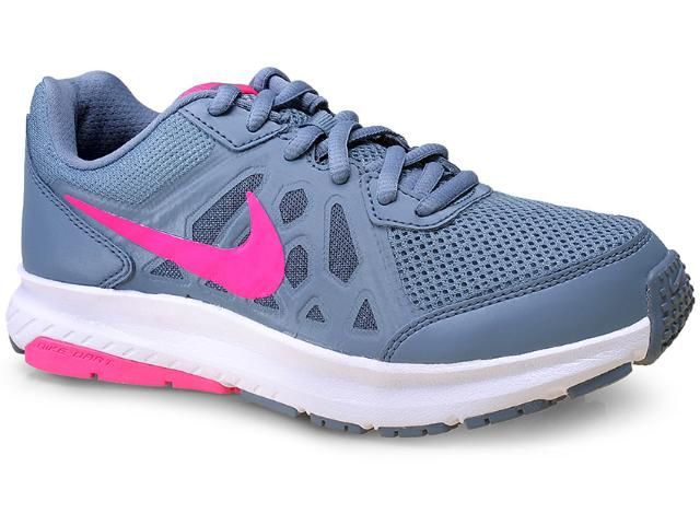 Tênis Feminino Nike 724480-400 Wmns  Dart ii Msl Cinza/pink