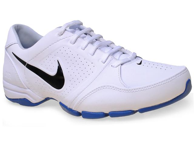 Tênis Masculino Nike 525726-115 Air Toukol Iii  Branco/azul