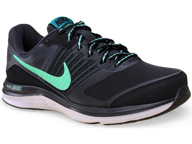 Tênis Feminino Nike 724457-007 Wmns Dual Fusion x Msl  Preto/verde