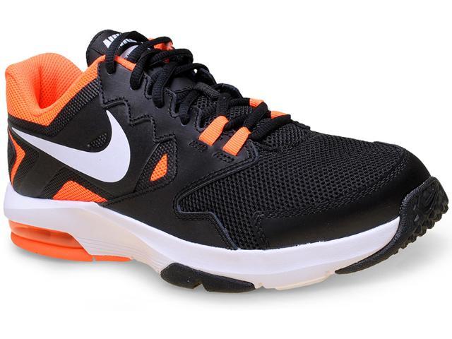 Tênis Masculino Nike 719933-005 Air Max Crusher 2 Preto/laranja