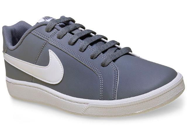 Tênis Masculino Nike 749747-011 Court Royale Cinza/branco