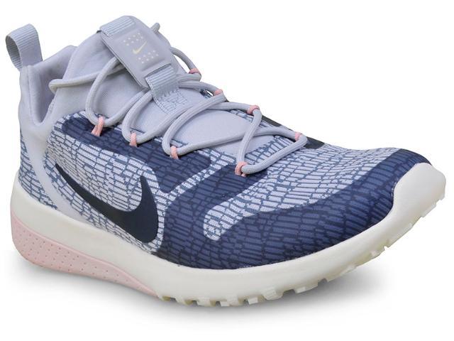 Tênis Feminino Nike 916792-400 Wmns ck Racer  Azul/rosa