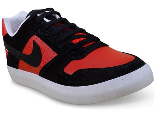 Tênis Masculino Nike 942237-006 Delta Force Vulc Skateboarding  Vermelho/preto
