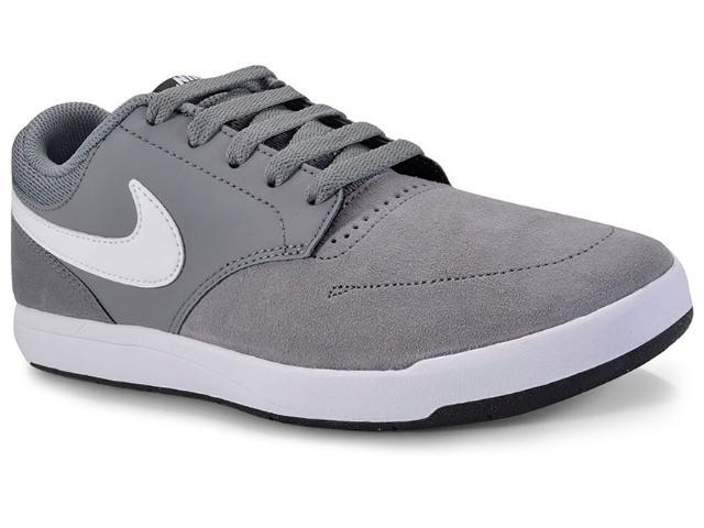 Tênis Masculino Nike 749477-013 sb Fokus Cinza/branco