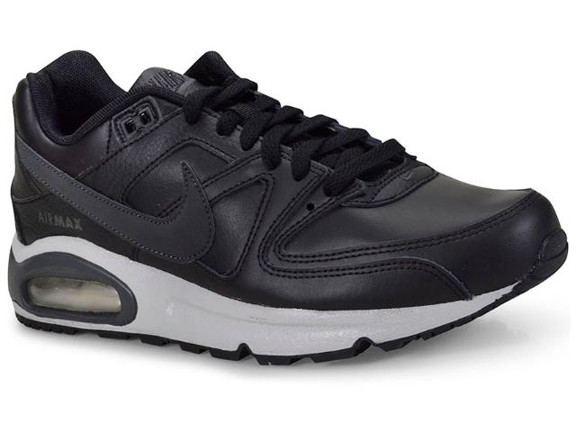 Tênis Masculino Nike 749760-001 Air Max Command Shoe Preto/cinza