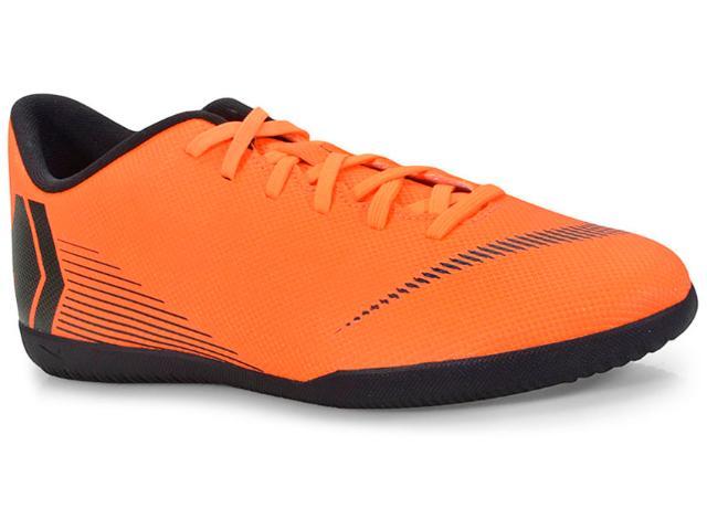 Tênis Masculino Nike Ah7385-810 Vaporx 12 Club ic Laranja